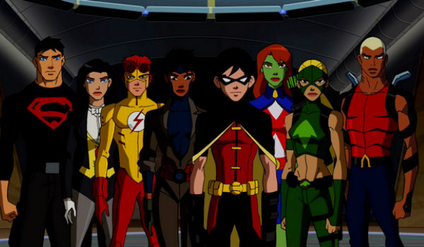 Young Justice Teen Titans