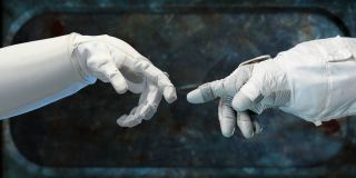 Robonaut 2 MichelAngelo