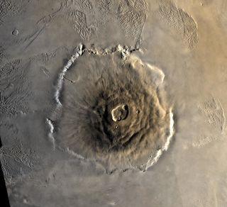 Olympus Mons on Mars