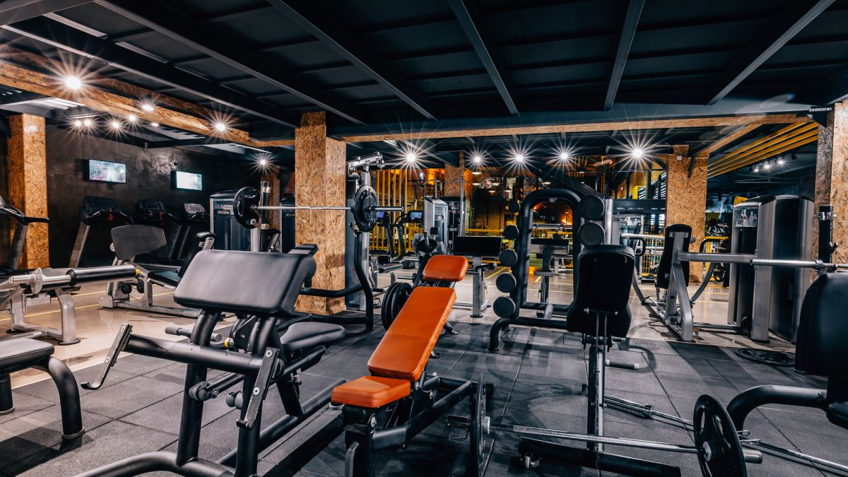 This is the Fittest Man on Earth's new home gym