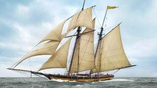 19th century schooner