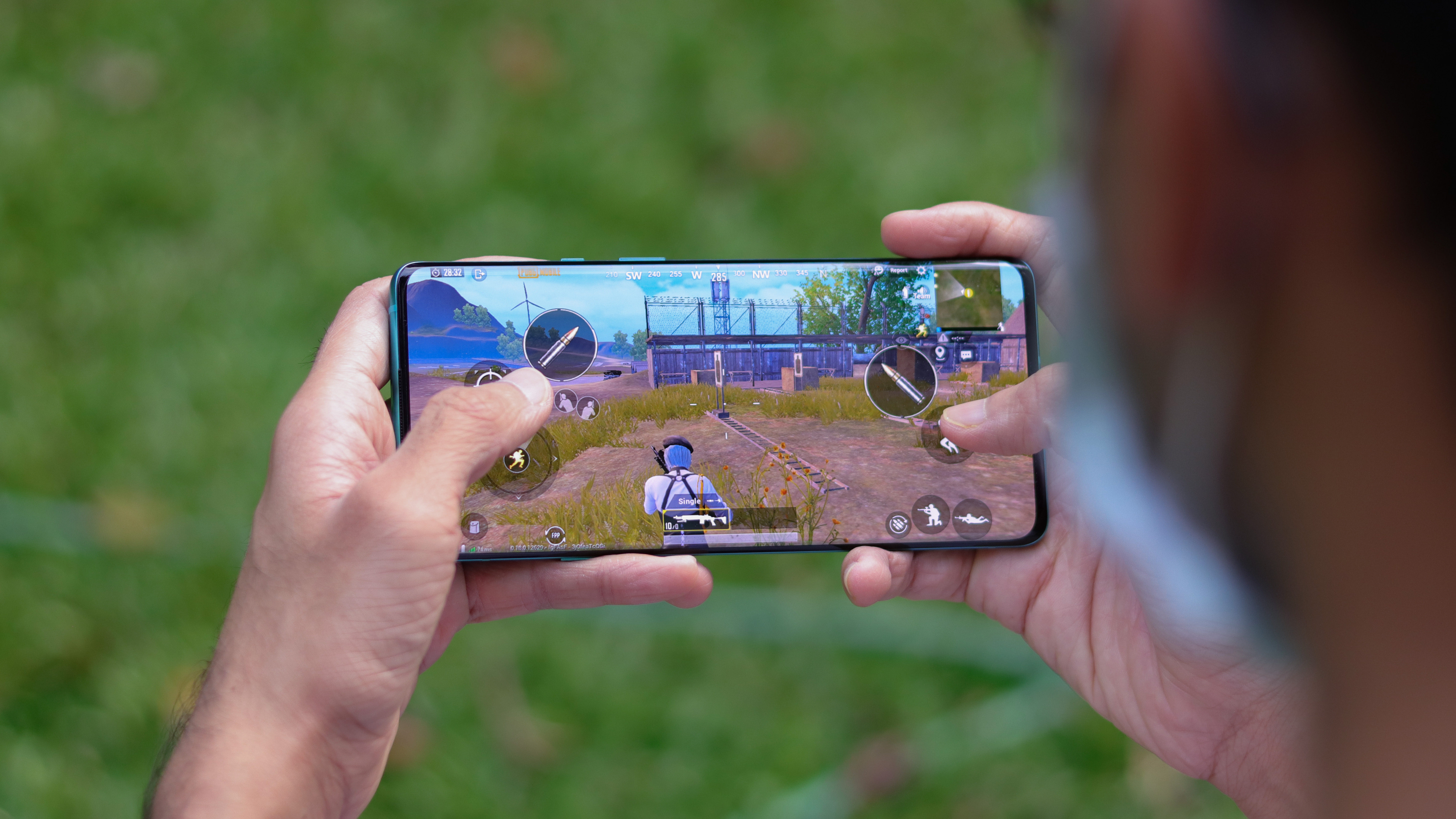Gaming on a Snapdragon 780G smartphone