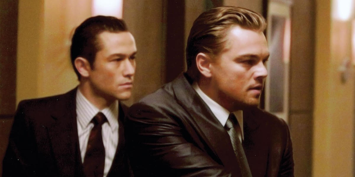 Leo DiCaprio on the right