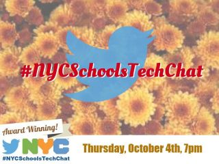 #NYCSchoolsTechChat: #DigCit #MediaLiteracy - Thursday at 7pm EST