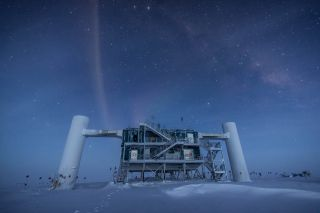 These giant experiments are searching for the most-elusive ghost particles in the universe.