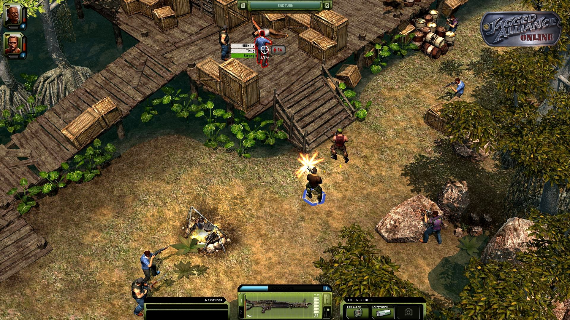 Jagged Alliance Online Enters Closed Beta Today #19744