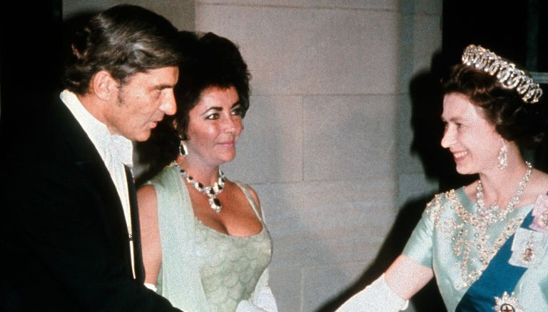 the queen and elizabeth taylor