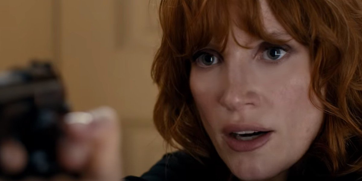 Jessica Chastain in the 355 2020