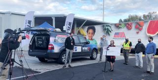 WTOC helped America's Second Harvest of Coastal Georgia raise some $20,000 during a Thanksgiving food drive.