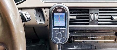 Ancel BD310 on interior dash
