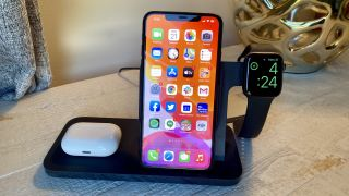 The Logitech Powered 3-in-1 dock, one of the best wireless chargers
