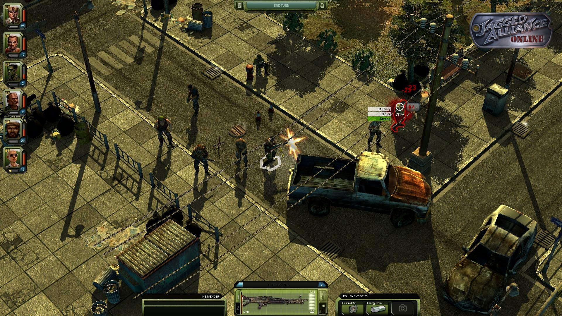 Jagged Alliance Online Enters Closed Beta Today #19746