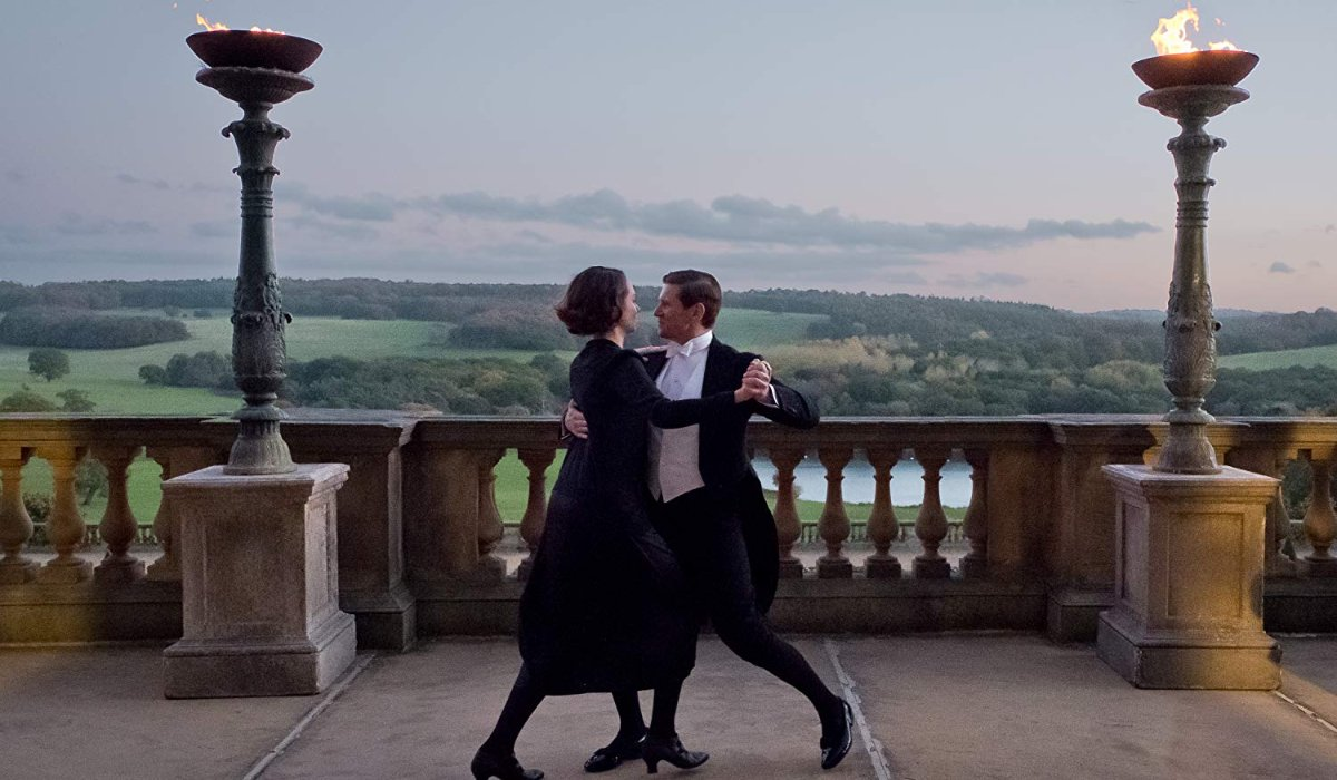 Downton Abbey Tom Branson and Lucy Smith dancing