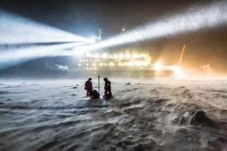 A Massive Icebreaker Ship Will Trap Itself in Arctic Sea Ice on Purpose. Here's Why. | Live Science