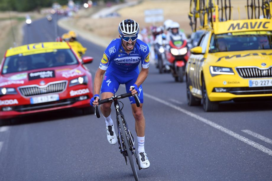 Julian Alaphilippe ends season and skips Il Lombardia