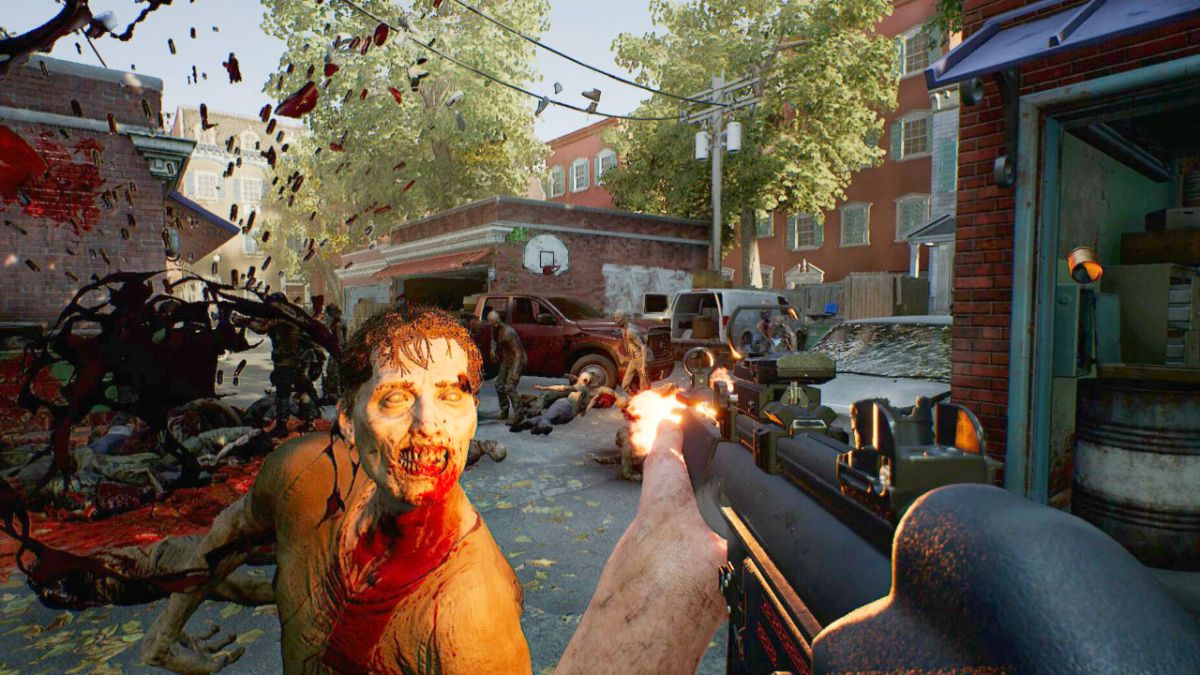 Overkill's The Walking Dead E3 2018 gameplay is channeling Left 4 Dead and Payday hard