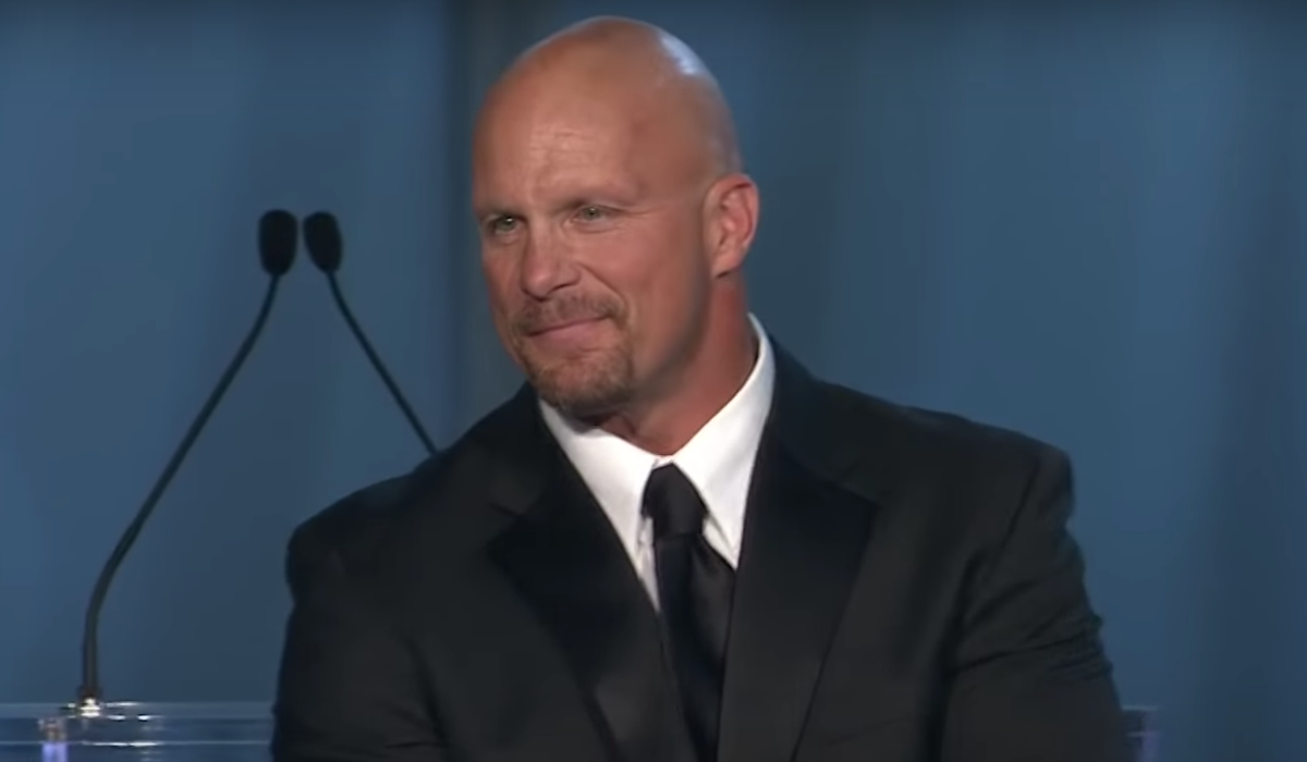 stone cold steve austin wwe hall of fame induction