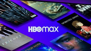 HBO Max on a TV