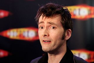 David Tennant at a Doctor Who event.