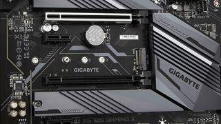 Gigabyte X570S M.2 slot