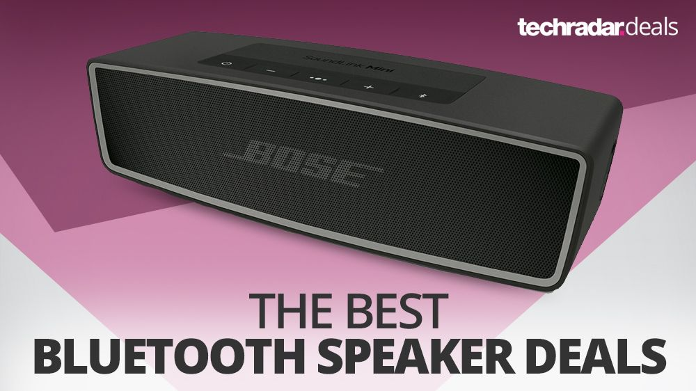 the best cheap bluetooth speaker deals and sales in may 2019 techradar. Black Bedroom Furniture Sets. Home Design Ideas