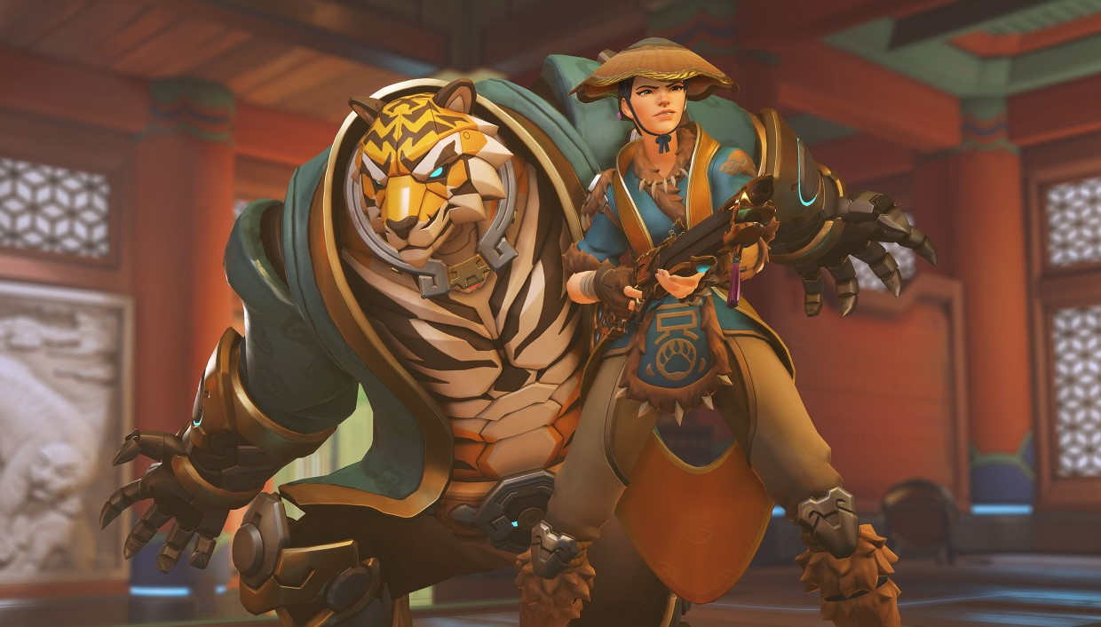 Overwatch's Lunar New Year event adds five Epic skins and a Bounty Hunter brawl