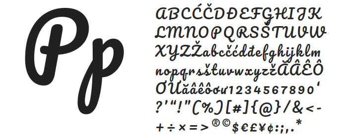 Best free fonts: Pacifico