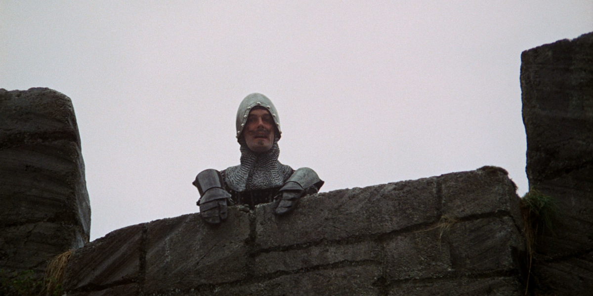 John Cleese in Monty Python and the Holy Grail