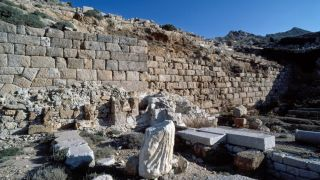 Ruins of a Temple of Aphrodite in Turkey