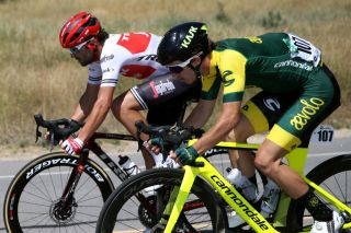 Scott McGill rides for Aevolo at the 2019 Tour of Utah