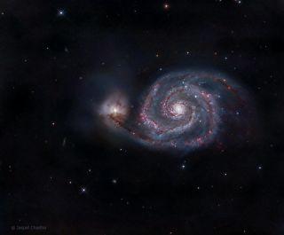 Whirlpool Galaxy Chadha