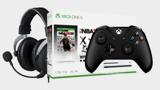Get an Xbox One S, a game, spare controller, and a HyperX gaming headset for $299