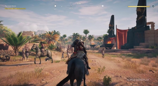 Assassin S Creed Origins Director Addresses The Size Of The World Cinemablend