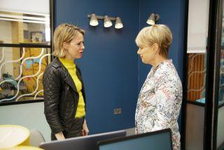 Coronation Street spoilers: Sally Metcalfe has a warning for Abi