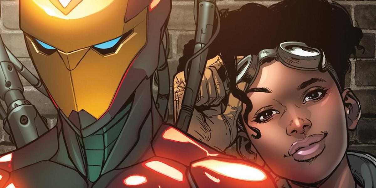 Riri Williams as Ironheart in Marvel comics