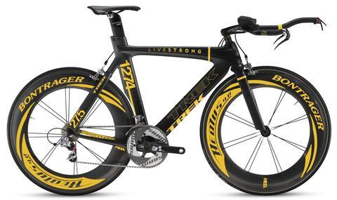 Lance Armstrong Trek 'stolen bike'