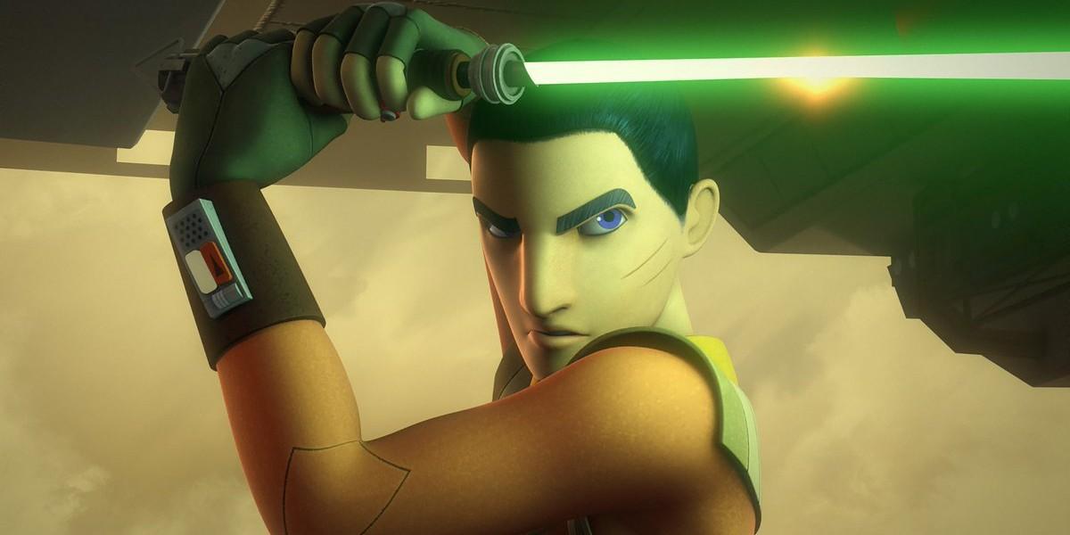 Ezra Bridger on Star Wars Rebels
