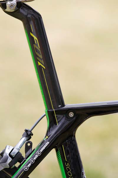 GreenEdge: 2012 team bikes