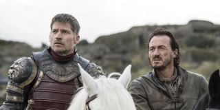 Jaime and Bronn before Dany attacked