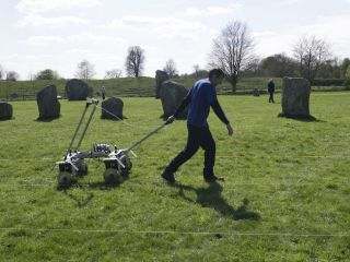 ground resistance survey avebury circle