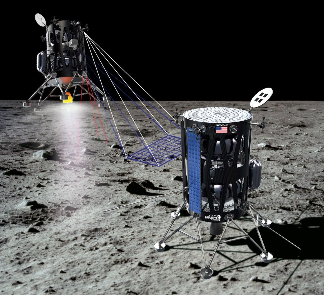 SpaceX Falcon 9 Rocket Will Launch Private Moon Lander in 2021