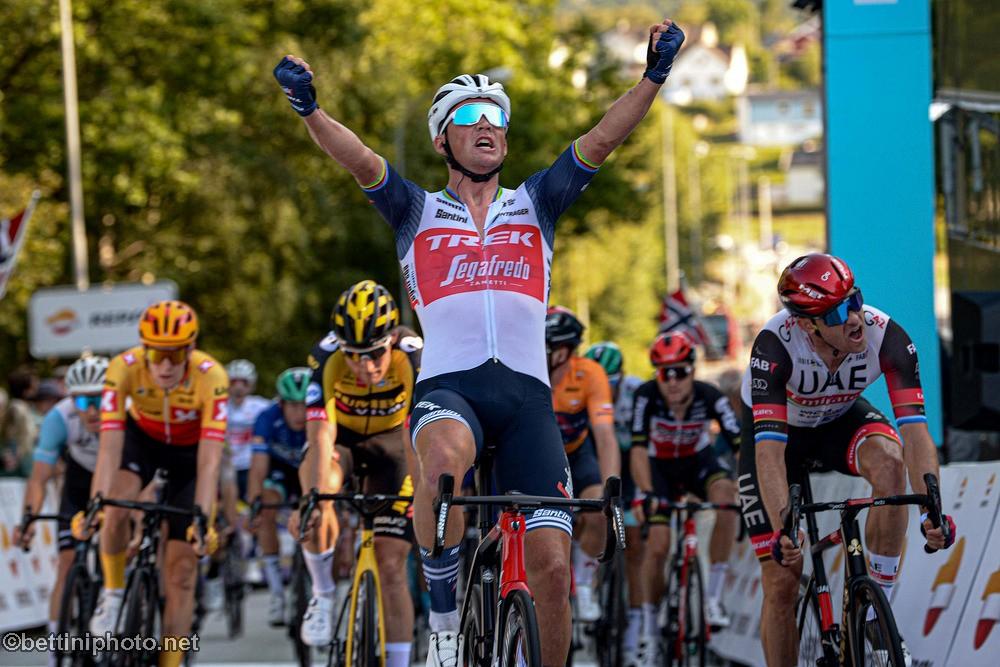 Mads Pedersen (Trek-Segafredo) wins stage 3 at Tour of Norway