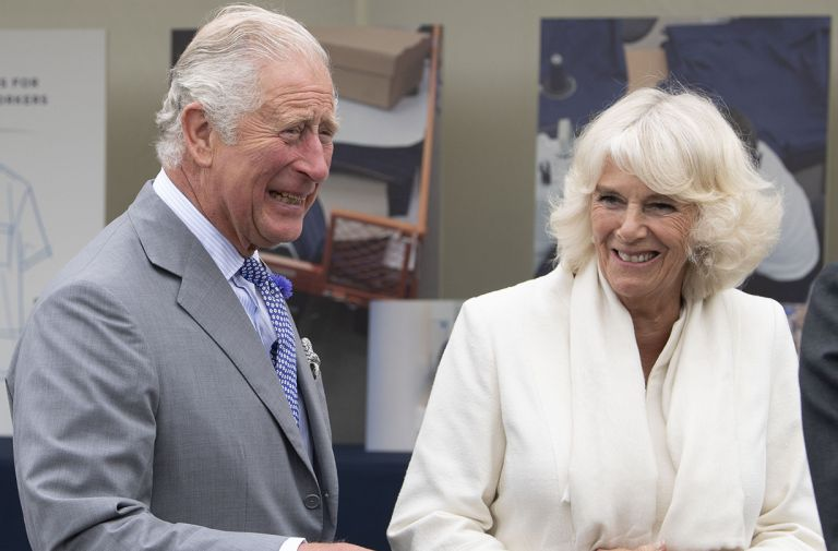 prince charles camilla duchess cornwall asda post lockdown visit