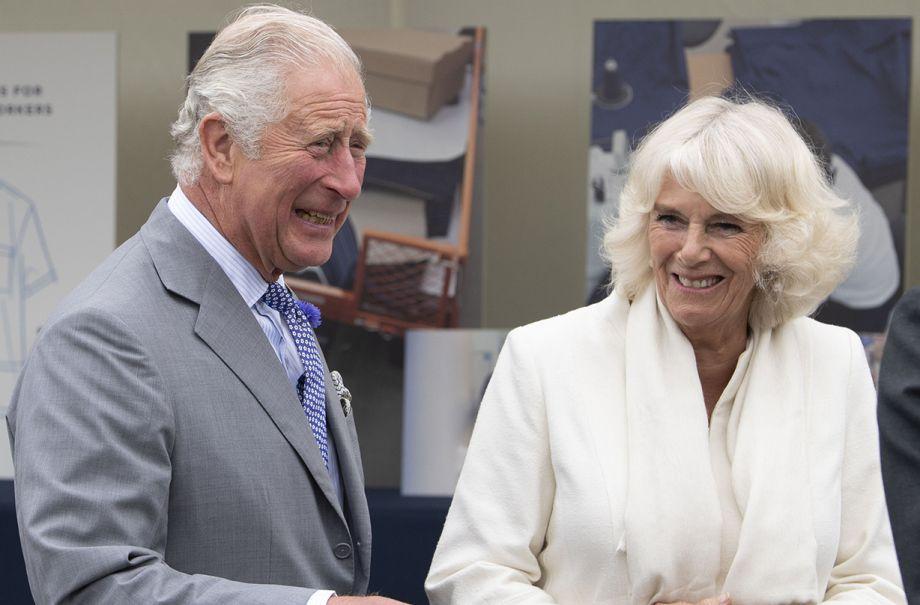 prince charles camilla duchess cornwall asda post lockdown visit