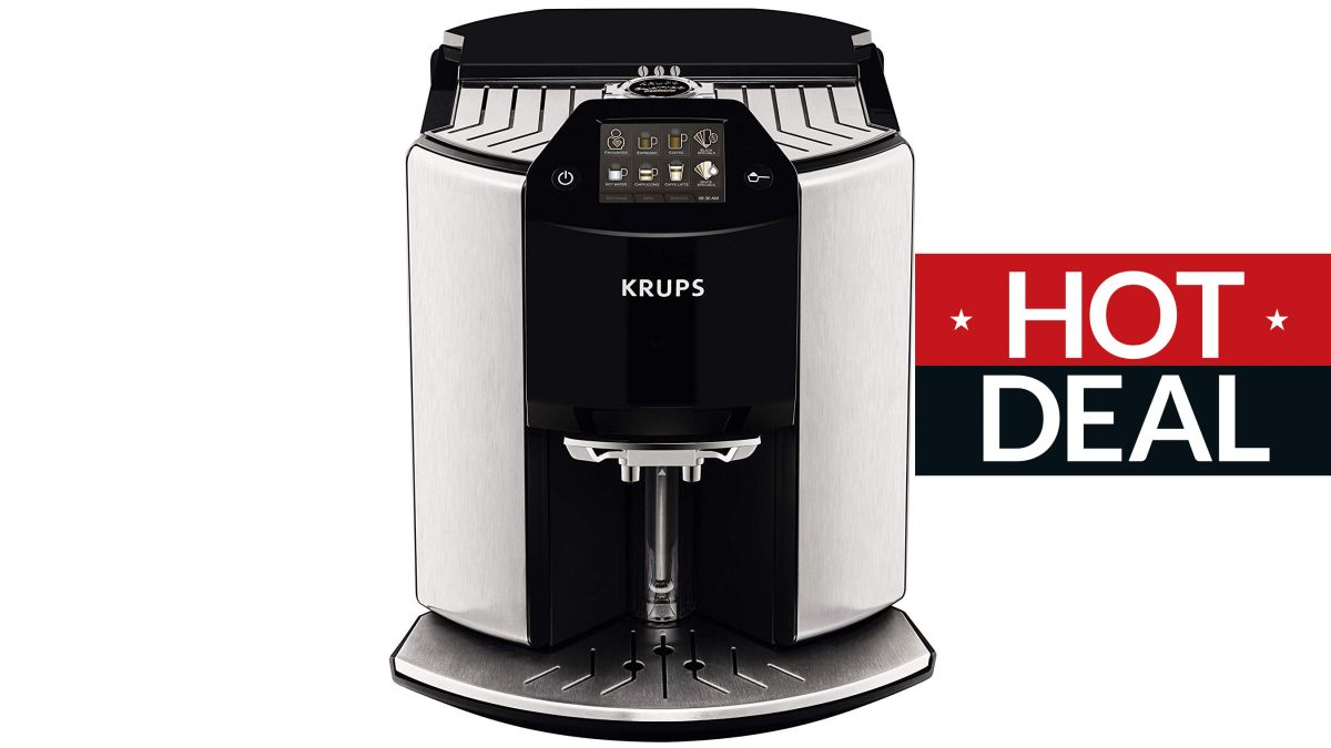 Krups EA907D40 Automatic Espresso Bean to Cup Coffee Machine Black Friday deal has £500 off at Amazon