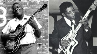 [L-R] Howlin' Wolf and Hubert Sumlin