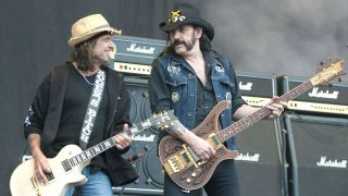 Phil Campbell and Lemmy Kilmister