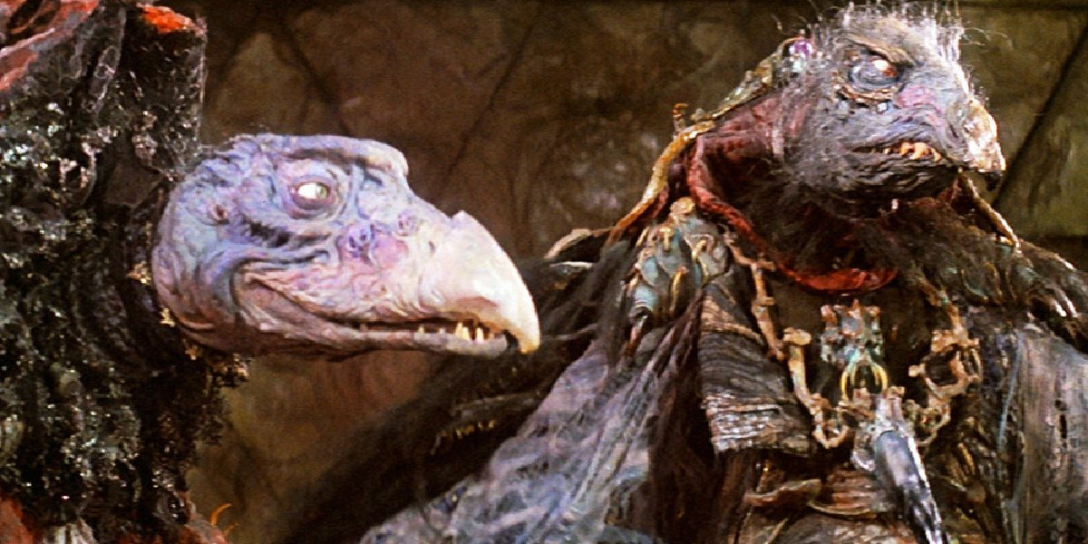 An example of some of the animatronics and puppetry in The Dark Crystal.