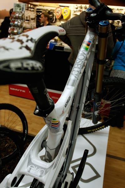 Tracy Moseley Trek Session bike