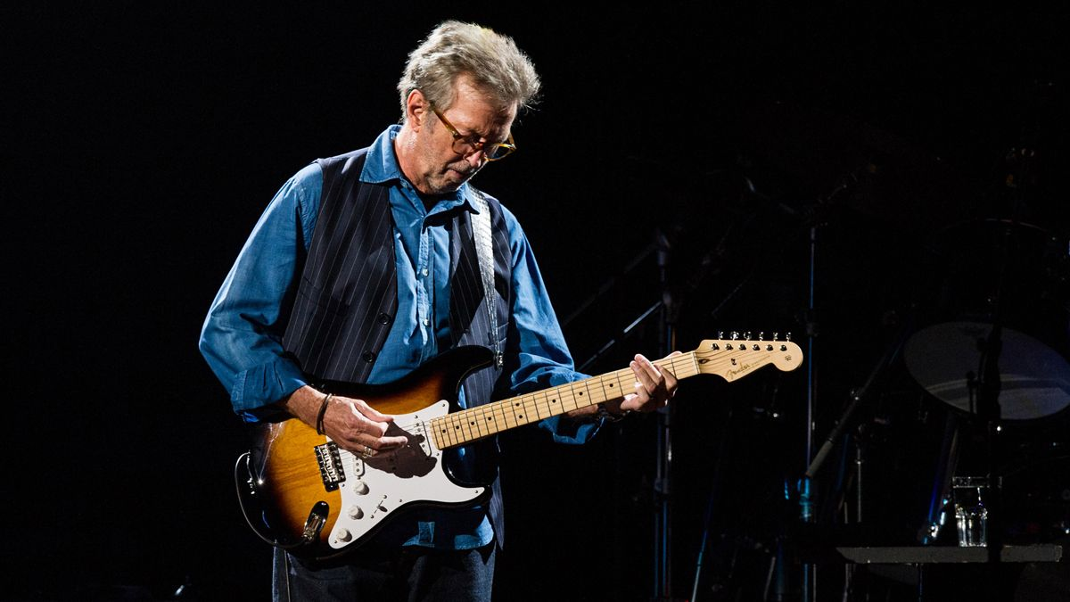 Eric Clapton's 'Slowhand at 70' Fender Stratocaster, played at the Royal Albert Hall, goes up for auction